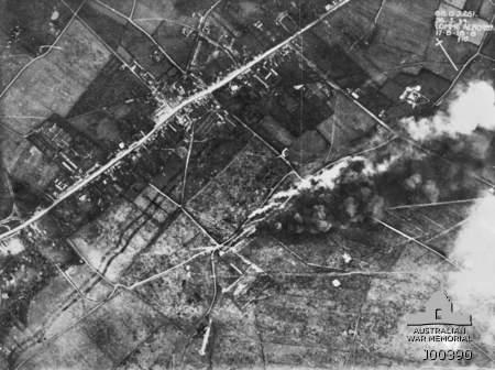bombardement aerodrome allemand lomme 1918 premiere guerre mondiale 1914-1918